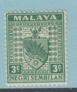 Negri Sembilan 22B Postfrisch mit Scharnier Og Kein Fehler Extra Fein