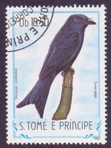 St. Thomas and Prince  1983  used  742  birds  18.50d.     #