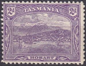 Tasmania #104 F-VF Unused CV $18.00 (A19129)