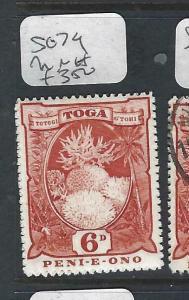 TONGA  (PP2102B)  6D    SG 79     MNH