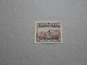 1930- 32 COSTA RICA STAMP AIRMAIL USED H SC# C-3