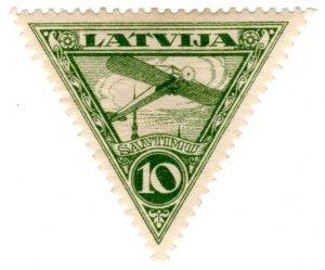 Latvia Scott C3 (1921: Air Post)
