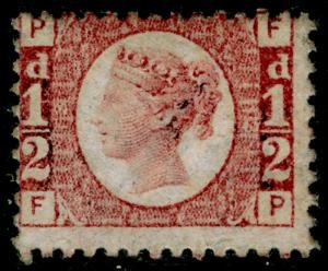 SG48, ½d rose-red plate 13, M MINT. Cat £120. FP