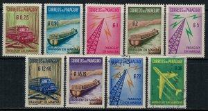 Paraguay #577-81,C278-81*/u  CV $3.90
