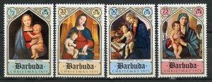 Barbuda MNH 99-102 Christmas 1971
