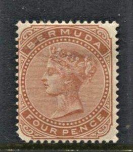 STAMP STATION PERTH Bermuda #24 QV Definitive MLH Wmk.2 - CV$40.00