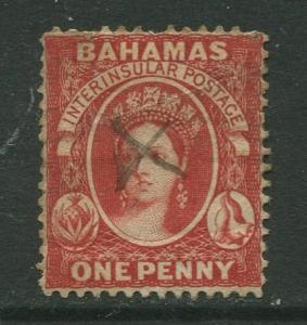 STAMP STATION PERTH Bahamas #20 QV Definitive Wmk.2 Perf.14 Pen Cancel Used
