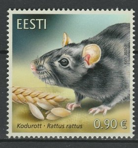 Estonia 2020 Fauna, Animals MNH Stamp