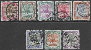 Sudan 9-16     1898    set 8  FVF Used