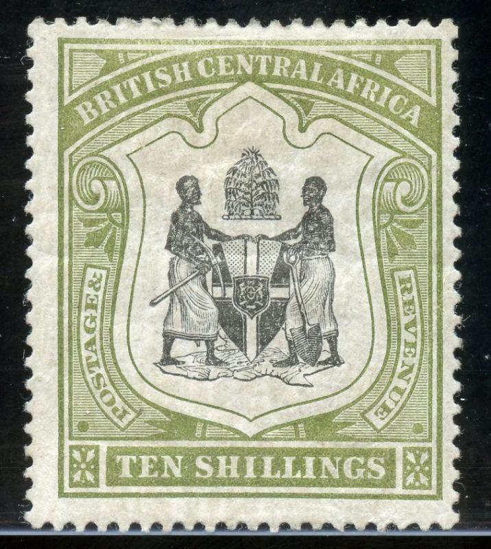 BRITISH CENTRAL AFRICA  SCOTT#54  SGIBBONS#50a  MINT HINGED ORIGINAL GUM
