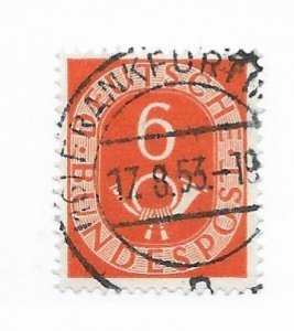 Germany #673 Used - CAT VALUE $3.00