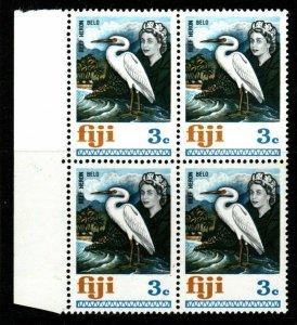 FIJI SG393 1969 3c DEFINITIVE MNH BLOCK OF 4