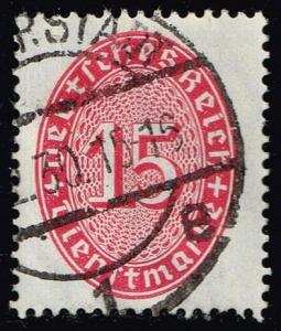 Germany #O73 Official - Numeral; Used (0.90)