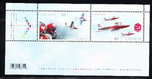 CANADA # 2159b  Mint NH -  Souvenir sheet - Military aircraft - 2006