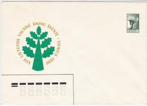 Lithuania UNUSED Stationary Stamps Cover Ref 31157