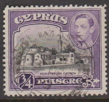 Cyprus Sc#145 Used