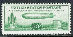 [ST]   US #C18 Mint-NH ~ Popular 1933 Graf Zeppelin Airmail Issue