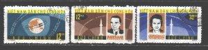 Vietnam. 1964. 298-300. Space. USED.