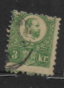Hungary 8 U 1871-72 Franz Josef I