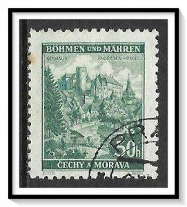 Bohemia & Moravia #40 Neuhaus Used