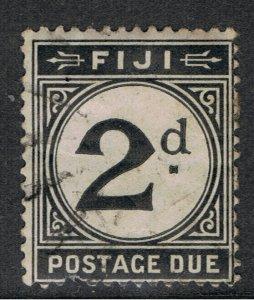 FIJI 1918 2d BLACK POSTAGE DUE