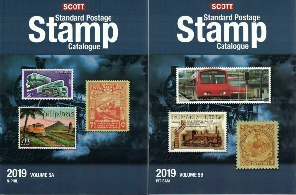 2019 Scott Standard Postage Stamp Catalogue, Volume 5 (Countries N-SAM)