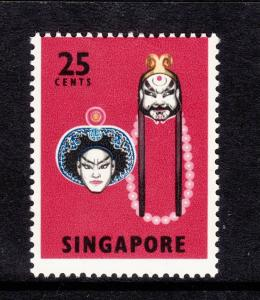 1968 Singapore 25c Mint