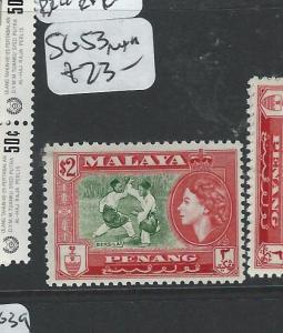 MALAYA PENANG  (P1008B) QEII $2.00 SG53  MNH