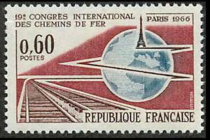 France 1161 Mint VF LH