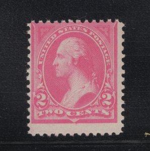 US Stamp Scott #248 Mint Never Hinged SCV $90