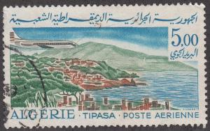 Algeria #C15 Caravelle over Tipasa USED