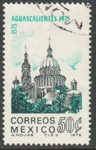 MEXICO 1140, 400th Anniv City of Aguascalientes. Used. VF.  (1334).