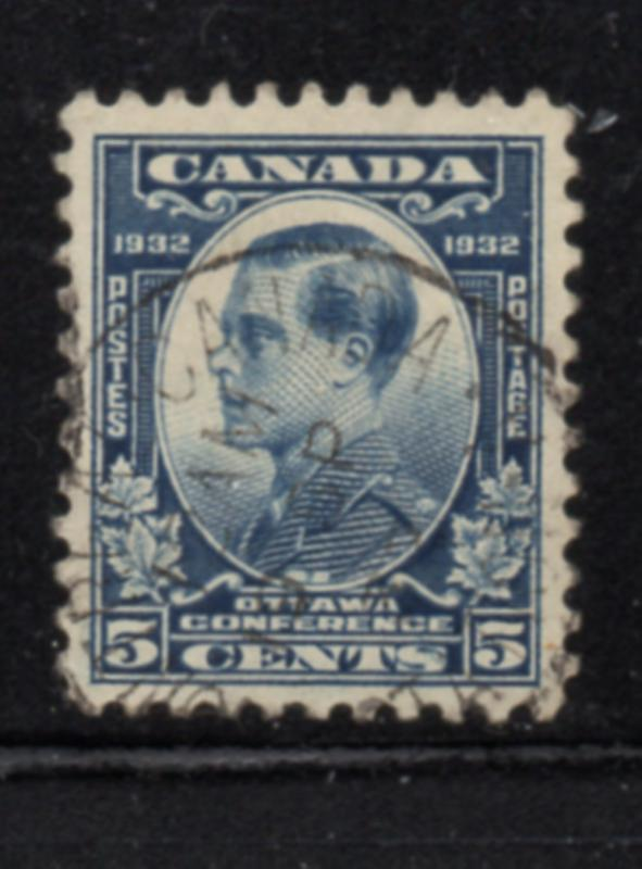Canada Sc 193 1932 5 c Prince of Wales Ottawa Conference stamp used