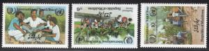 MALDIVE ISLANDS SCOTT 1125-1127
