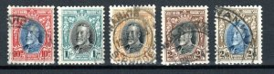 Southern Rhodesia 1933-36 10d to 2s 5d perf 11 1/2 FU CDS