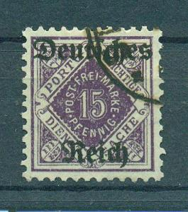 Wurttemberg sc# O61 used cat value $5.25