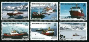 British Antarctic Territory Stamps 2018. - BAT 075 Research Ships Set
