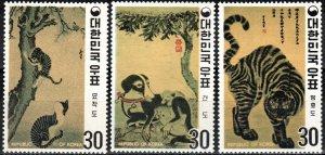 Korea #718-20 MNH CV $26.25 (X7024)