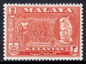 Malaya (Kelantan) - Scott #73 - MH - SCV $0.80