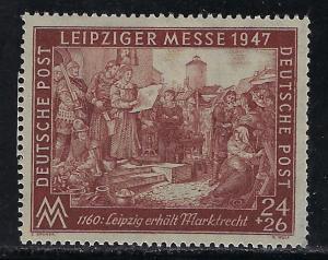 Germany AM Post Scott # B296, mint hr