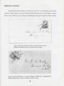 Straightline, Fancy and Unusual Cancels and Handstamps on CSA General Issues NEW