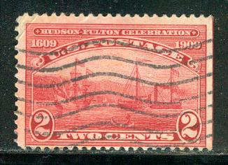 United States Scott # 372, used