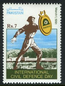 Pakistan 744, MNH. Intl. Civil Defense Day, 1991