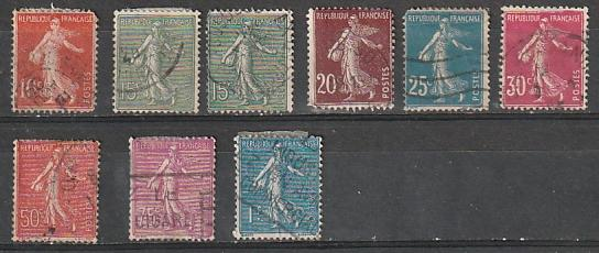 #138-142,146,151 France Used