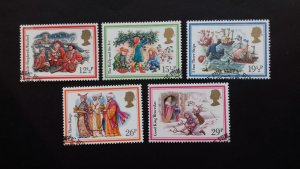 Great Britain 1982 Christmas Stamps used