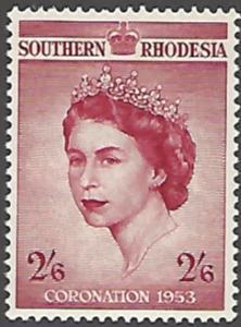 Southern Rhodesia #80 MNH Single Stamp cv $7.25