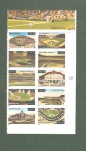 3510-19 (3519a) Baseball Fields Right Plate Block Mint/nh