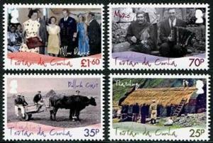 HERRICKSTAMP TRISTAN DA CUNHA Sc.# 927-30 Island Traditions
