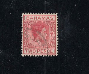 BAHAMAS # SG 152ba VF-2p FROM THE HILLSON COLLECTION CAT VALUE £110 or  $136