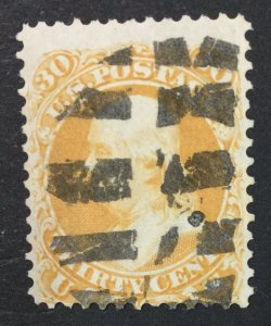 MOMEN: US STAMPS #71 USED LOT #44874